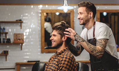 Choice of Men's Grooming Package at Rory James Men's Salon (Up to 50% Off)