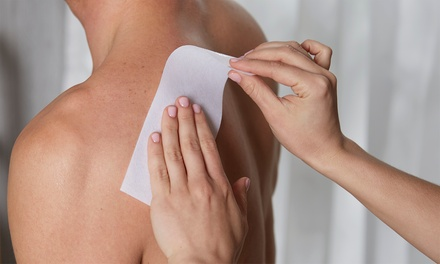 Men's Waxing for One, Two, or Three Areas at 247 Natural Wellness Center (Up to 60% Off)