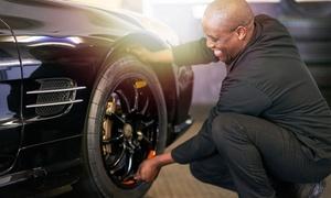 Tazz Car: Cambio gomme con bilanciatura e convergenza all'officina Tazz Car (sconto fino a 80%)