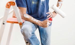 MOSCATELLI FILIPPO: Imbiancatura fino a 120 m² inclusi infissi e pulizie finali (sconto fino a 91%)