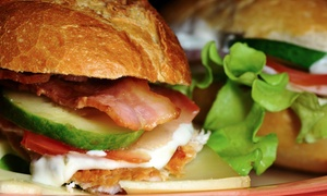 Cafe Creme: Lunch and Drink for One, Two or Four at Cafe Creme (Up to 47% Off)