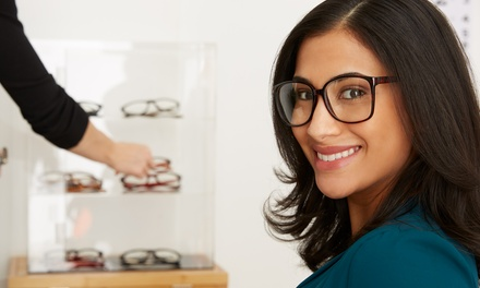 Eye Exam with Value Towards Glasses or $20 for $200 Worth of Glasses at The Quantum Optical