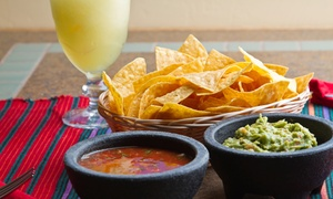 El Torito Taqueria Bar: Two Appetizers with Margaritas or Mexican Food for Two or Four at El Torito Taqueria Bar (Up to 51% Off)