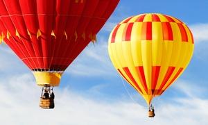 BALLONFAHRTEN KAUFMANN: Wertgutschein über 100 € anrechenbar auf 3 bis 4 Std. Ballon-Erlebnis bei Ballonfahrten Kaufmann für 49,90 €