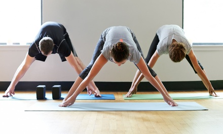 Five or Ten Yoga and Fitness Classes at Verve Movement Studio (Up to 61% Off)