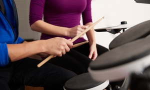 Singing Sydney: One ($35), Two ($65) or Three One-Hour Drum Lessons ($99) at Singing Sydney (Up to $255 Value)