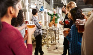 Up to 37% Off a City Brew Tour at DC City Brew Tours, plus Up to 8.0% Cash Back from Ebates.