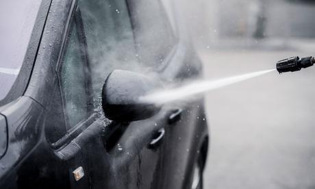 Lavado de coche con tratamiento de ozono y opción a lavado hidrofóbico en Biko Wash (hasta 62% de descuento)