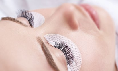 Full Set of Individual Eyelash Extensions at Glam Hair and Beauty (53% Off)
