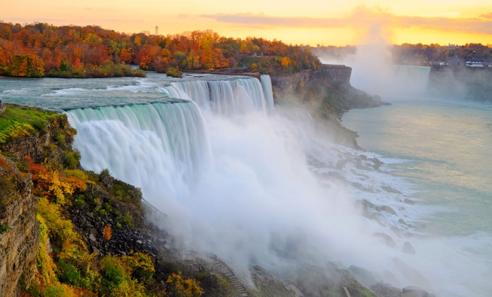 1- or 2-Night Family Stay with Dining and Activity Credits at Super 8 Niagara Falls (Up to 81% Off)