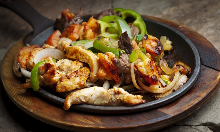 Mexican cuisine hacienda vieja bar and grill groupon for Fish on fire menu