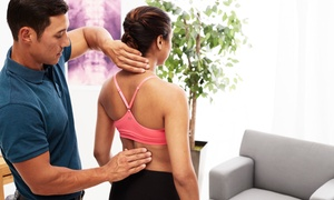 Bonfire Chiropractic: Chiropractic Visit for One ($19) or Two People ($35) at Bonfire Chiropractic, Two Locations