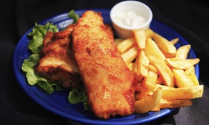 Southland Seafood: $11 Fish and Chips with Salad and Drink at Southland Seafood, Cheltenham ($14 Value)