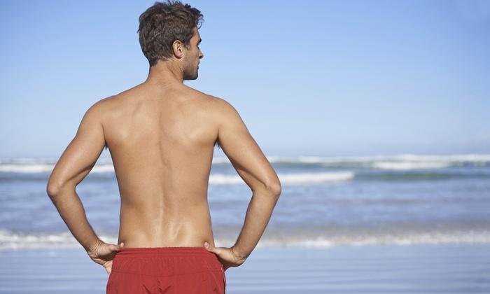 4, 6 u 8 sesiones: depilación láser en pecho y abdomen y/o espalda y hombros desde 69€ en Centro Internacional del Láser
