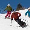Lezione di sci o snowboard