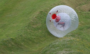 Thunderballz Ltd: Two Zorbing Runs For Two, Four or Six with Thunderballz (Up to 78% Off)