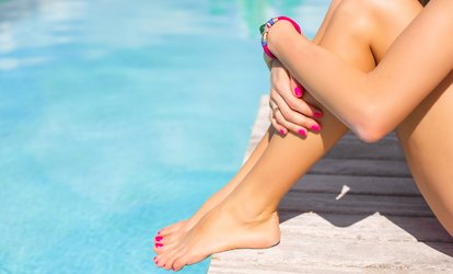 Shellac Manicure or Pedicure or Both at Pure Beauty at Boys 2 Men Salon (Up to 60% Off)