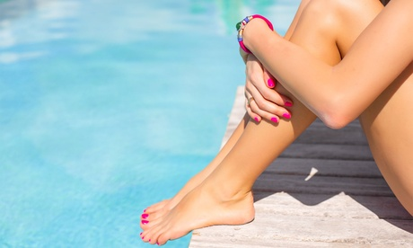 Gel Manicure and Spa Pedicure or Luxurious Nail Spa Package at Nails at the Lakes (Up to 54% Off)
