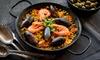 1 o 2 kg di Paella con Prosecco