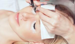 Pearl Beauty: Wimpernverlängerung mit Wimpernbüschel, opt. mit verschiedenen Looks, bei Pearl Beauty (bis zu 53% sparen*)