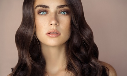 Wash, Cut and Blow-Dry with Luxury Moroccan Oil Treatment or Half Head of Highlights at Melissa Janes