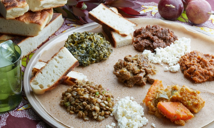 Ethiopian cuisine and wine kaffa coffee wine bar for Authentic ethiopian cuisine