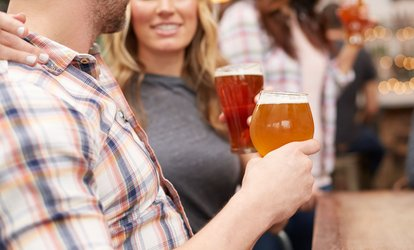 image for Beer Tasting Experience for Two or Four at Boring Brewing Company (Up to 49% Off)