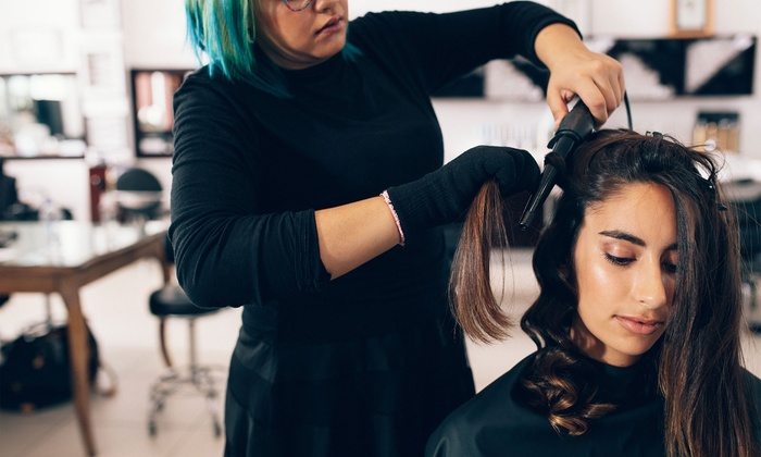 46% Off Haircut with an optional Blow Dry, And Style