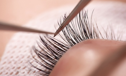 Full Set of Classic or Volume Mink Eyelash Extensions with Optional Fill at The Beauty Goddess (Up to 74% Off)