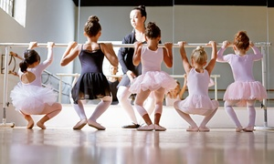 A Dance Place: 1 or 2 Months of Dance Classes and Pair of Shoes at A Dance Place (Up to 66% Off)