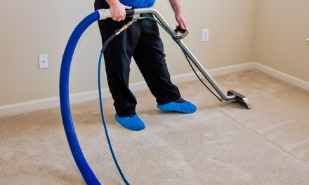 Carpet and Furniture Cleaning from Service Max Cleaning & Restoration (Up to 65% Off). Four Options Available.