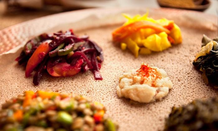 Lalibela Restaurant - Toronto: Ethiopian Cuisine and Drinks at Lalibela Restaurant (Up to 50% Off)