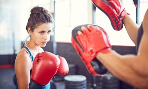 RJ Muay Thai: Four Weeks of HIIT, Muay Thai and Boxing Classes for One ($19) or Two People ($35) at RJ Muay Thai (Up to $360 Value)