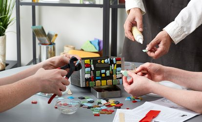 Craft Activity with Drink for One or Two at Craft Cafe (Up to 58% Off)