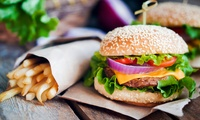 Burger Meal with Beer or Wine For Two or Four at Top Pub