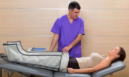 10 pressoterapie con massaggi