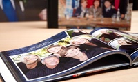"8"" x 8"" Hardback Photobook with Up to 60 Pages from Printerpix (Up to 73% Off)"
