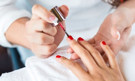 One or Two Gel Polish Manicures at Cascade Studio Santa Rosa (Up to 46% Off)