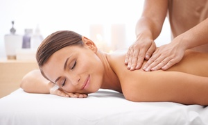 Swedish Massage with Optional Skin Refresher Facial, or a Swedish Massage for 2 at Your Spa (Up to 55% Off)