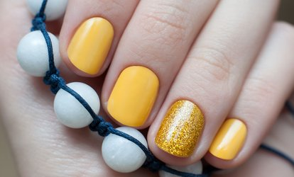 Gel Manicure, Pedicure or Both at Aesthetic U (Up to 70% Off)
