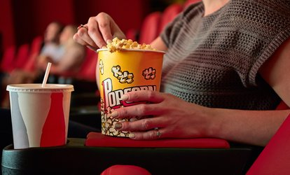 image for <strong>Movie</strong> for One with One Super Popcorn and 24 Oz Drink at Charlevoix Cinema III (Up to 40% Off)