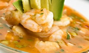 La Brisa Tacos Y Mariscos: $15 Towards Dine In for Two or More People or Takeout at La Brisa Tacos Y Mariscos (Up to 47%Off)