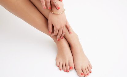 Deluxe Manicure, Pedicure or Both at KC's Unisex Salon (Up to 57% Off)