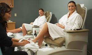 Daya Day Spa: Bain de pieds relaxant, Cocktail Fruit'hérapie et Enveloppement au Ghassoul 75 min pour 2 personnes à 99€ à Daya Day Spa