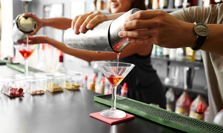 Délicieux cocktails et amuse bouches frais dès 14,49 € pour deux ou quatre personnes chez Njoy Bar & Lounge
