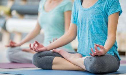 10 o 20 sedute di yoga o di meditazione con Satsanga (sconto fino a 83%)