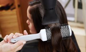 Opal Ladies Salon: Hair Styling Package with Optional Manicure at Opal Ladies Salon (Up to 74% Off)