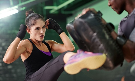 5- or 10-Class Pass or One Month of Unlimited Classes at Urban Fitness Kickboxing (Up to 80% Off)