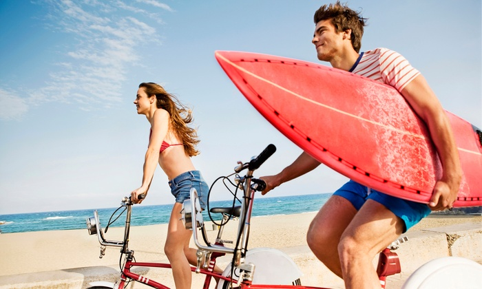 Bike Tours and Beach Gear at Joy Ride (Up to 51% Off). Six Options Available.