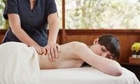 30-Minute Back, Neck and Shoulder Massage with an Optional 30-Minute Mini Facial at Loubelle Beauty (Up to 50% Off)